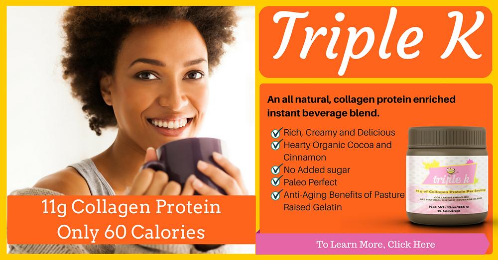 Triple K Collagen Protein Bevarage by Kellie Olver