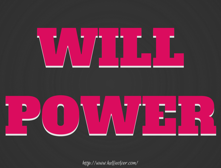 Will Power by Kellie Olver