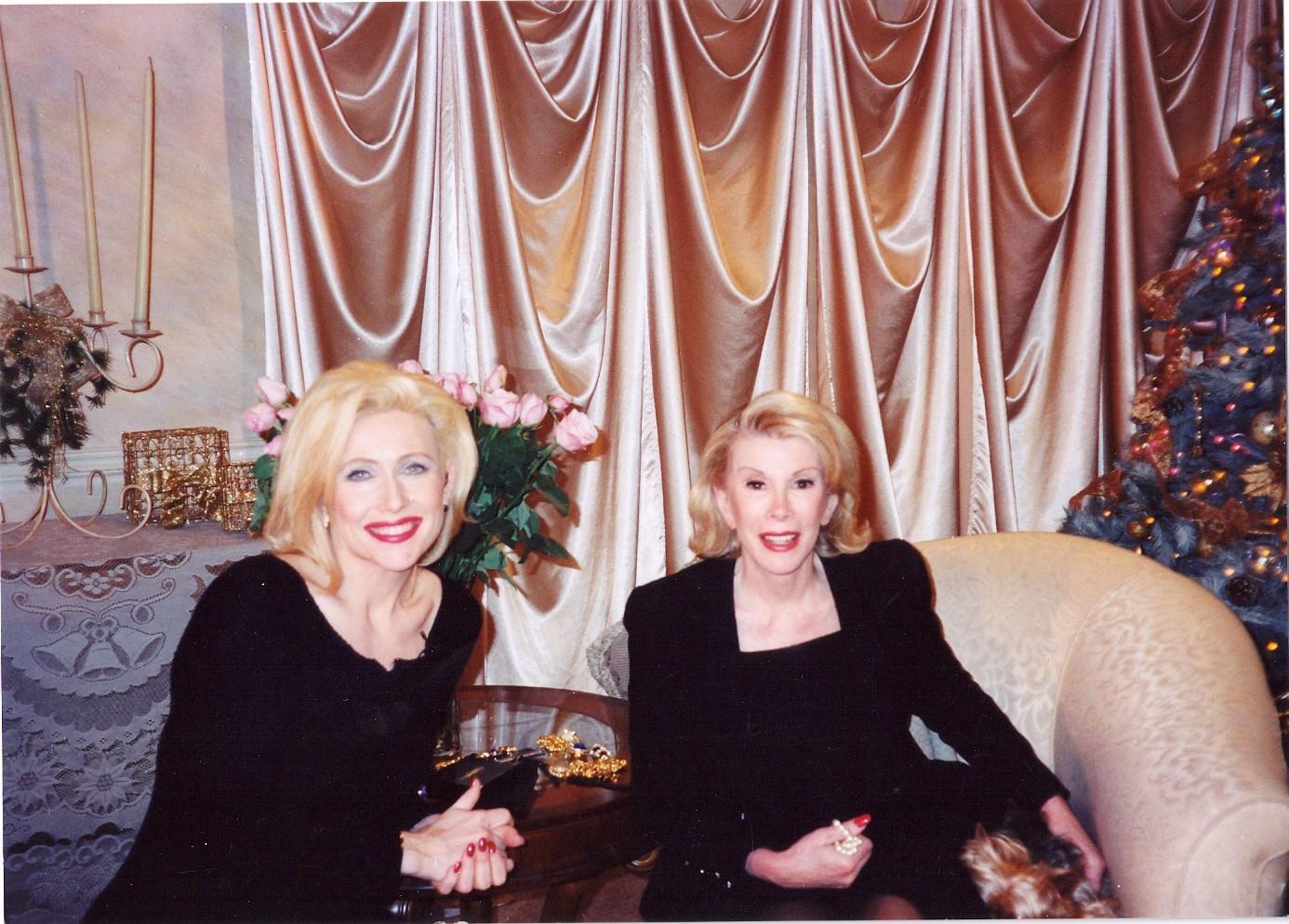 Kellie Olver and Joan Rivers