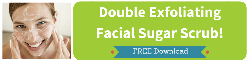 Double Exfoliating Facial Sugar Scrub by Kellie Olver