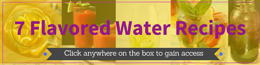 7 Flavored Water Recipes by Kellie Olver