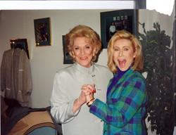 Jeannie Cooper and Kellie Olver