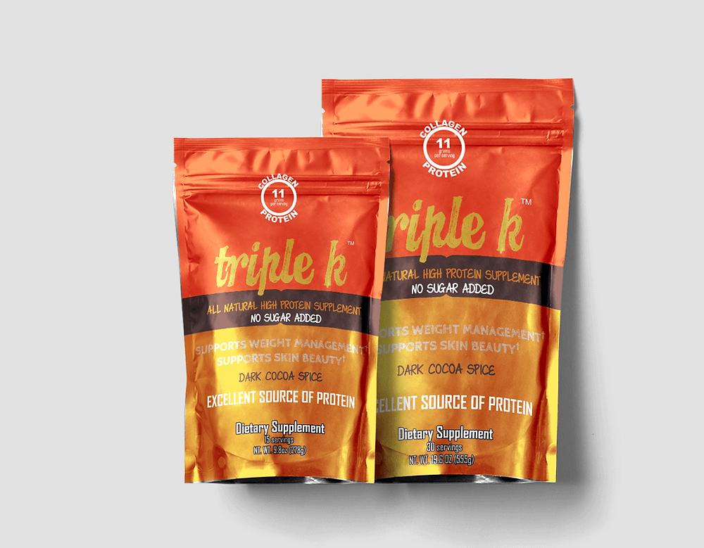 Triple K Collagen Protein Beverage
