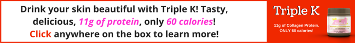 Triple K Collagen Protein Beverage Blend by Kellie Olver