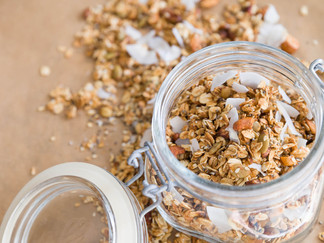 Olive Oil and Apricot Sugar Free Granola
