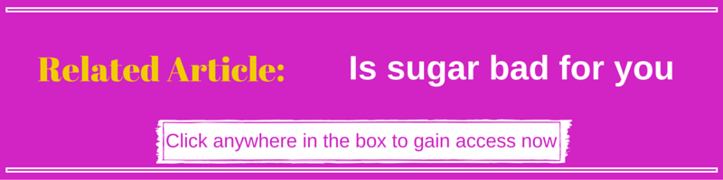 Is sugar bad for you - Kellie Olver