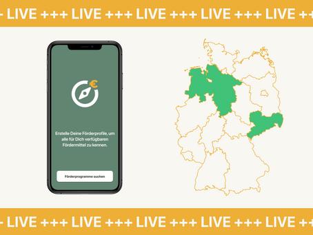 Förderpfad in Niedersachsen verfügbar