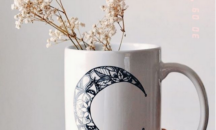 sisters of the moon mug