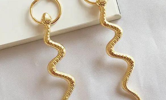 slither earrings
