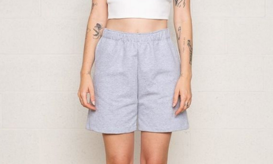 terry athleisure shorts