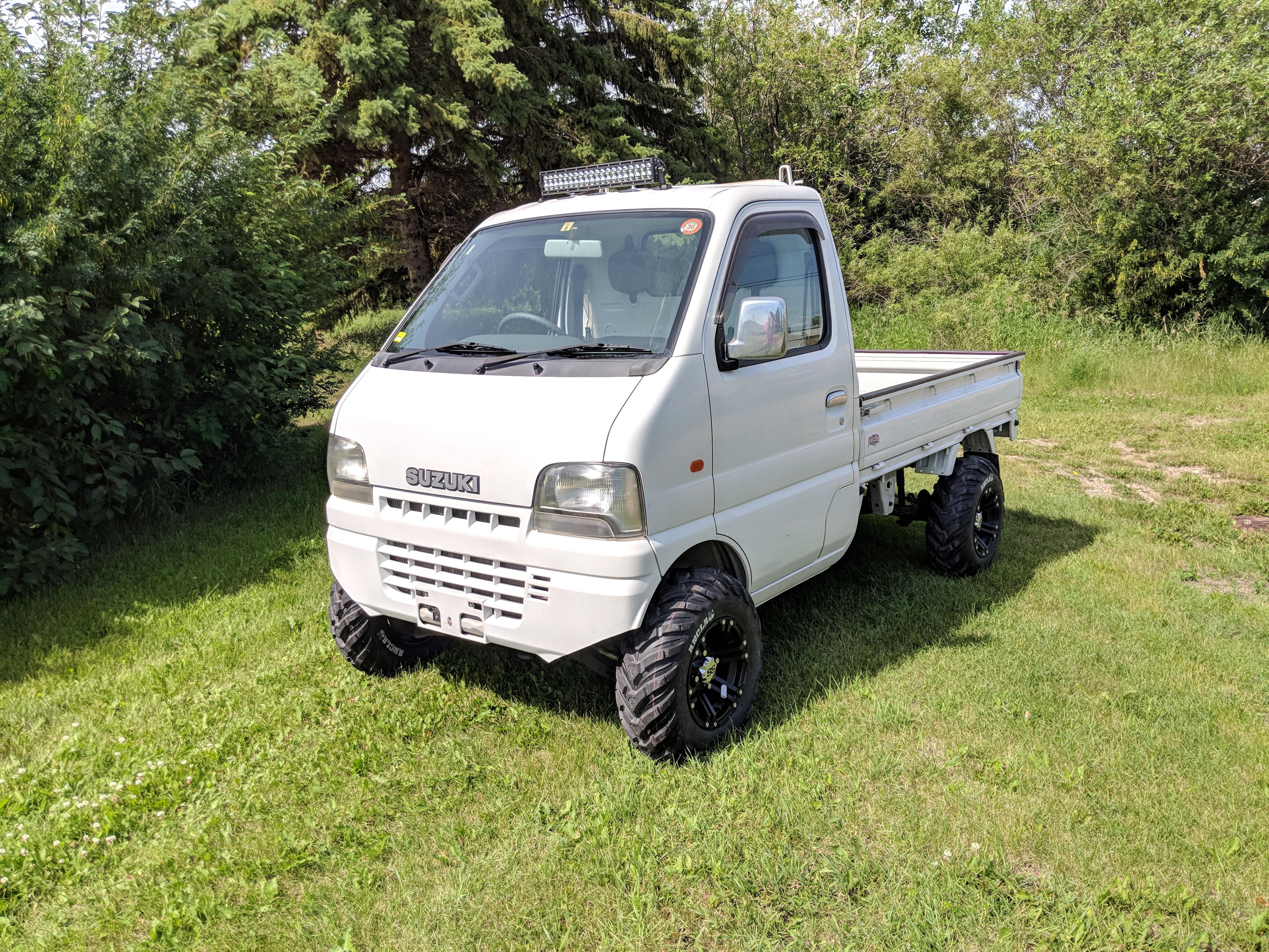 2001 Suzuki Carry DB52T w/ATV Tires