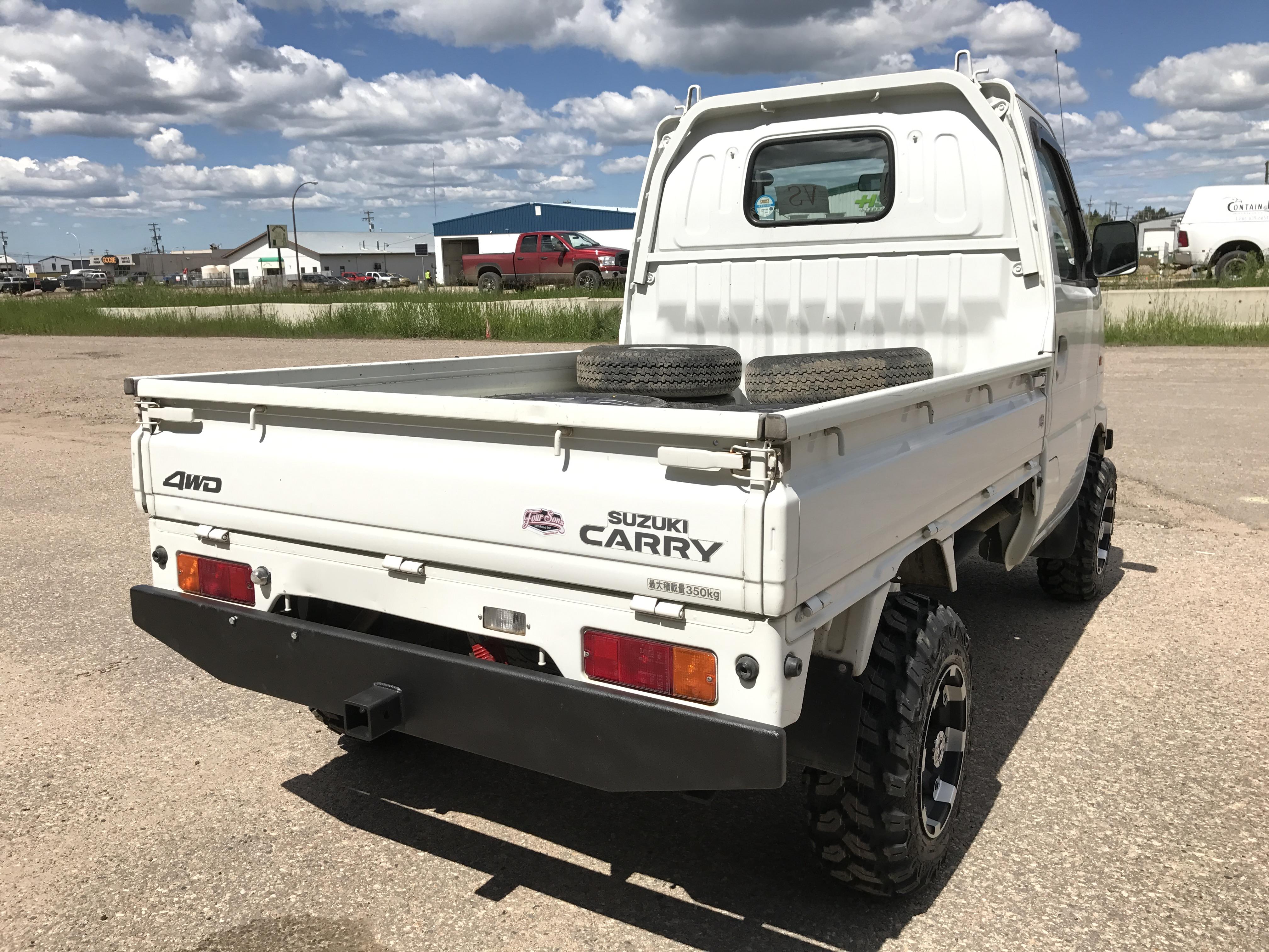 2001 Suzuki Carry DB52T Mini Truck
