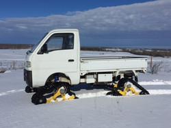 1995 Suzuki Carry with Tracks