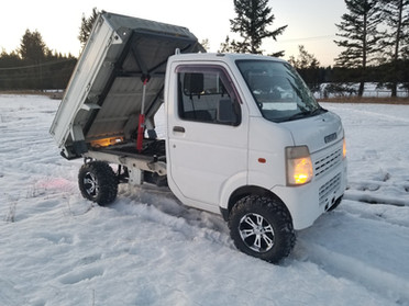 2003 Suzuki Carry DA63T Dump - $15,995