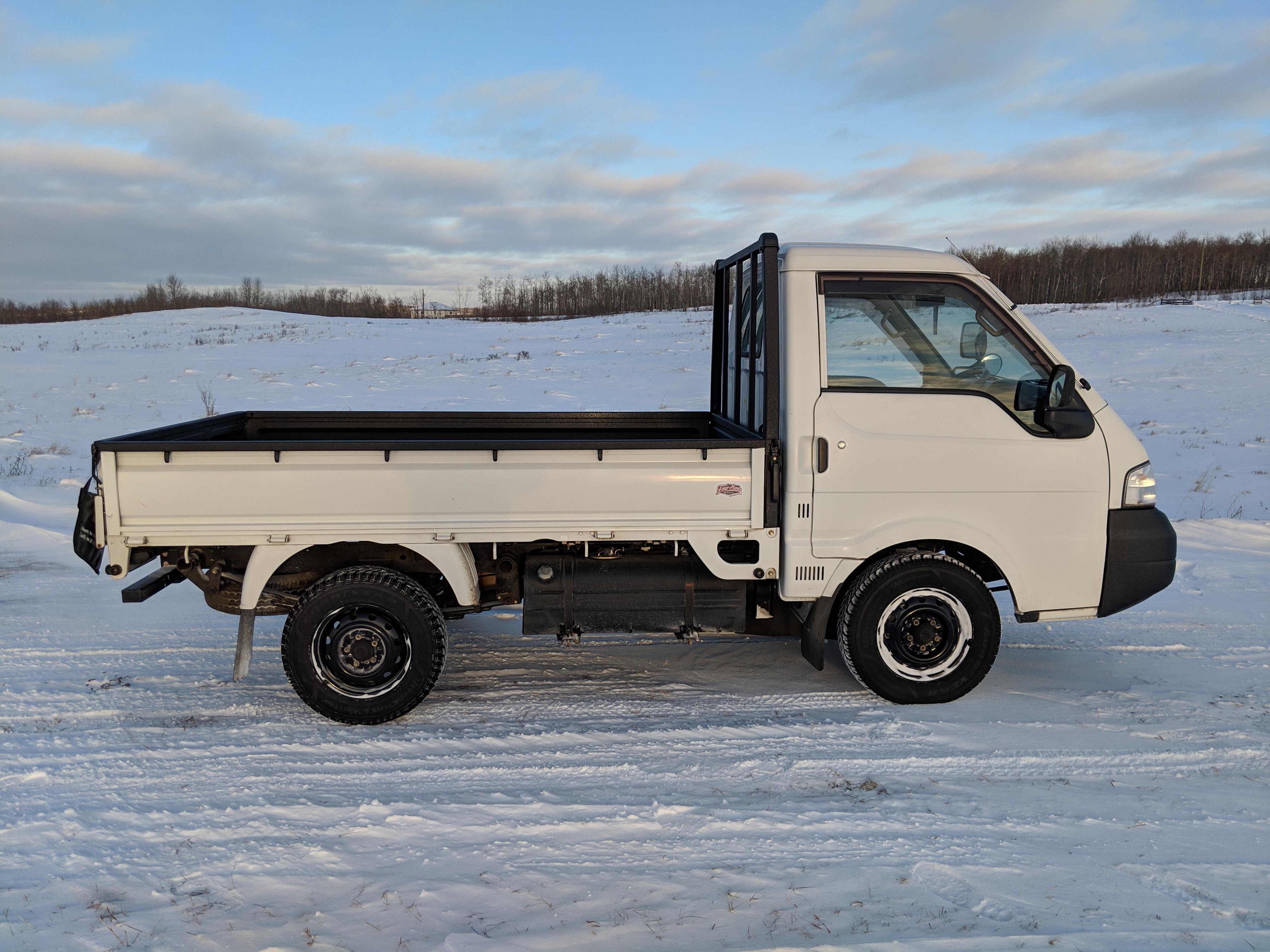 2002 Mazda Bongo SK82L Mini Truck