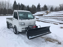 2000 Hijet with Plow