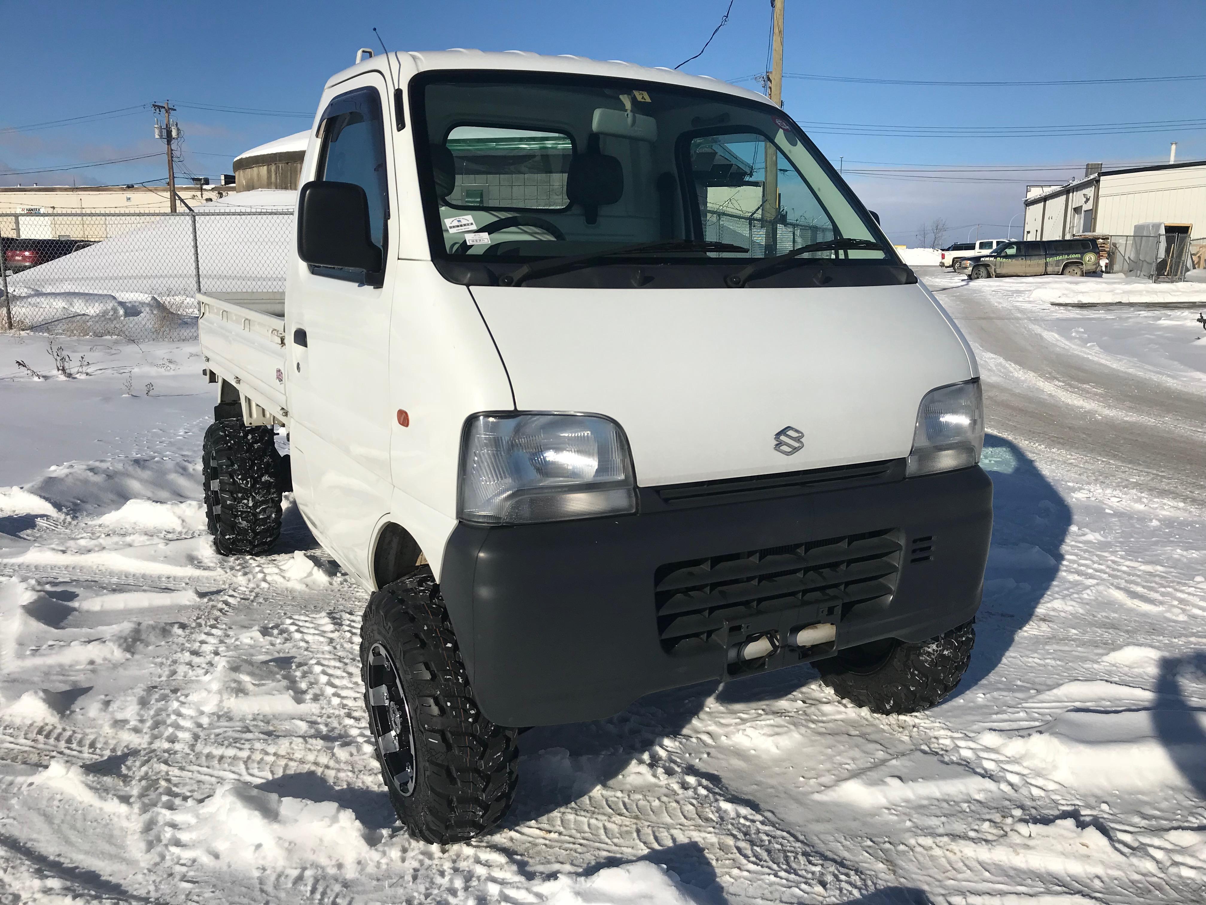 1999 Suzuki Carry Dump