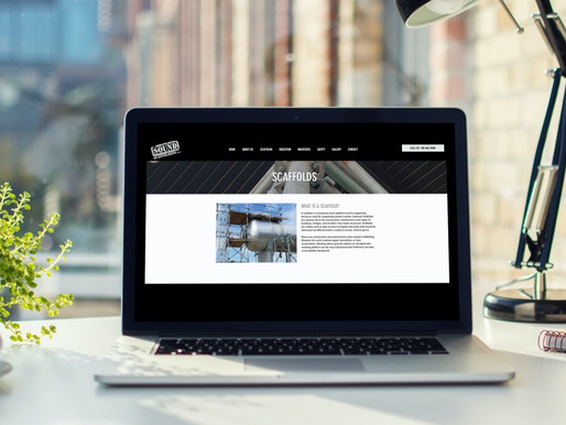 Sound Scaffolding Inc. Website
