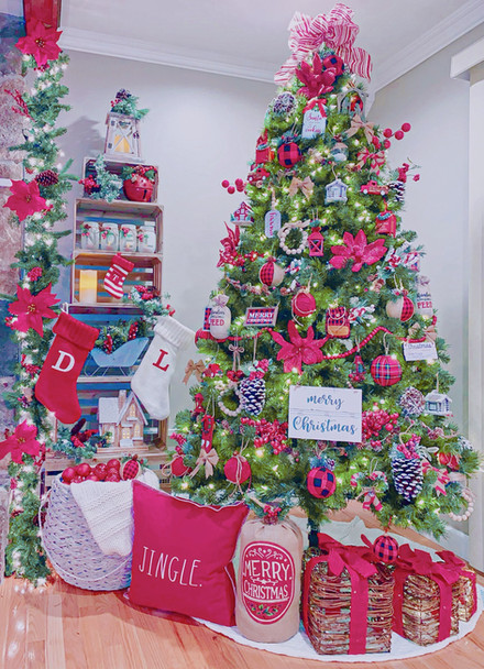 Rustic Christmas Tree Design