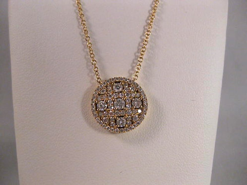 Yellow Gold and Diamond Pendant