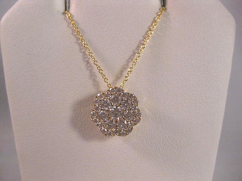 Yellow Gold and Diamond Pendant
