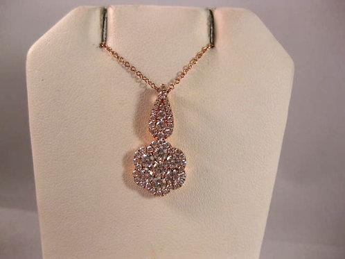 Rose Gold and Diamond Pendant