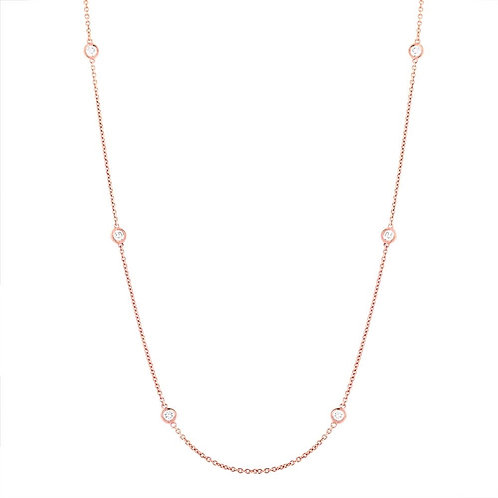 Necklace Diamond by the Yard