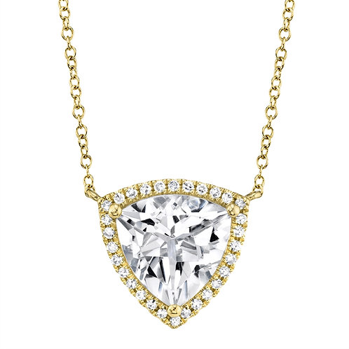 Necklace Trillion Topaz