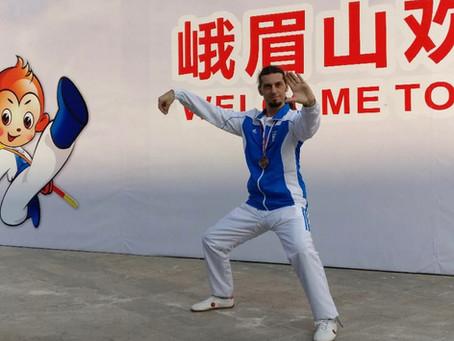 Χάλκινο μετάλλιο στο 7ο Παγκόσμιο Πρωτάθλημα Κουνγκ Φου