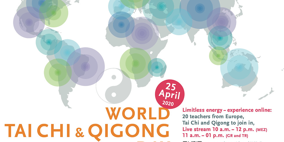 World Tai Chi & Qigong Day 2020 Online Event