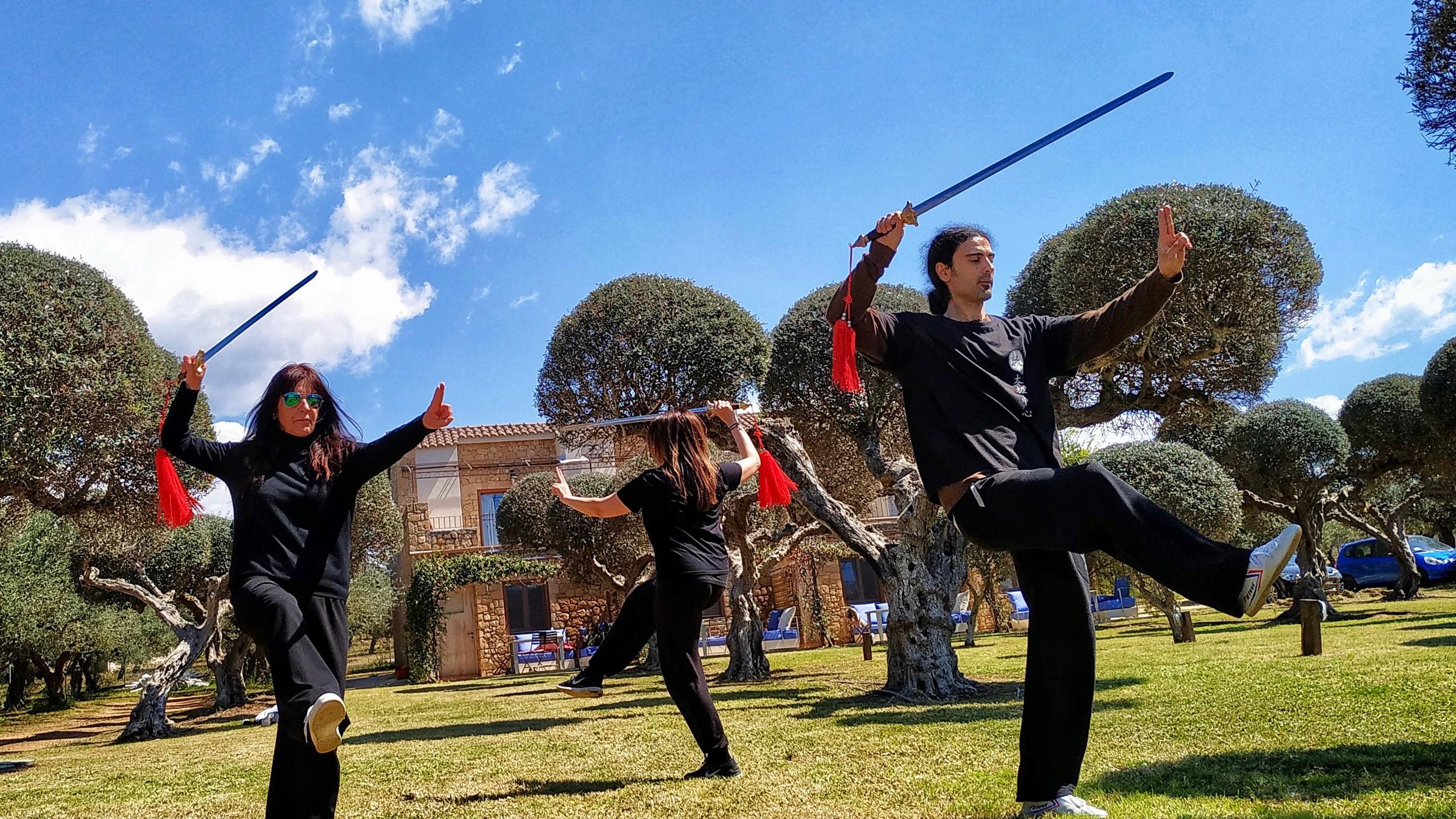 Wu Style Taiji Sword