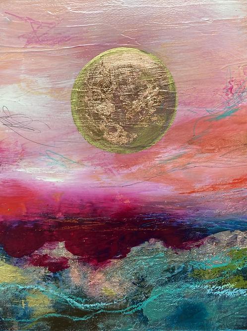 Pink Moss Moon
