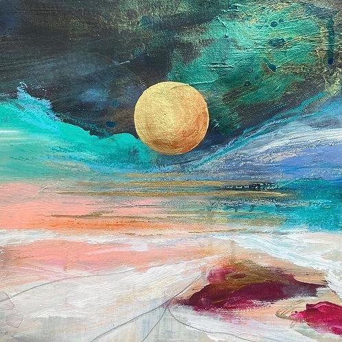 August Blue Moon