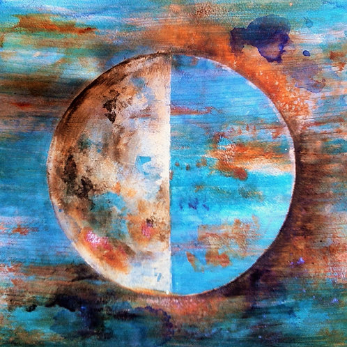 "Howl at the Moon"" Moon Phase Study 