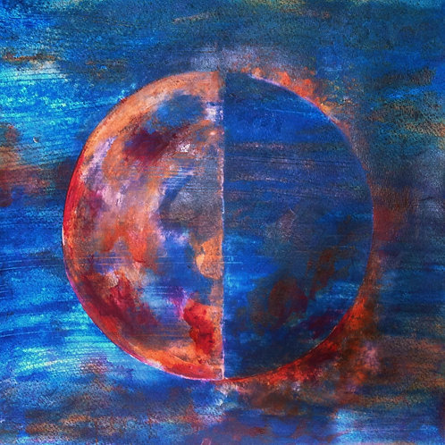 """Howl at the Moon"""" Moon Phase Study 