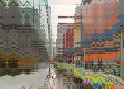 HONG KONG #5 - Central-Mid-Levels Escalators - 2020