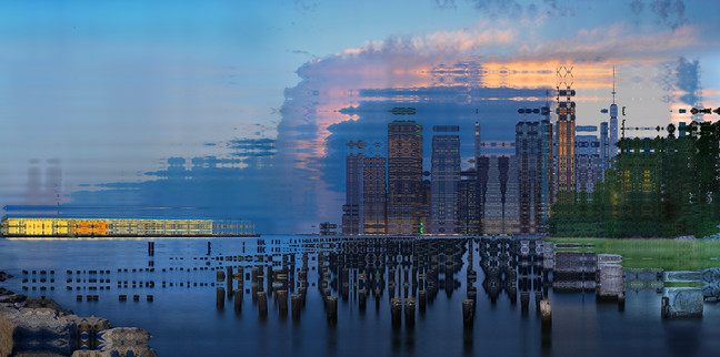 NYC - EAST RIVER - PIER 2 - 2018