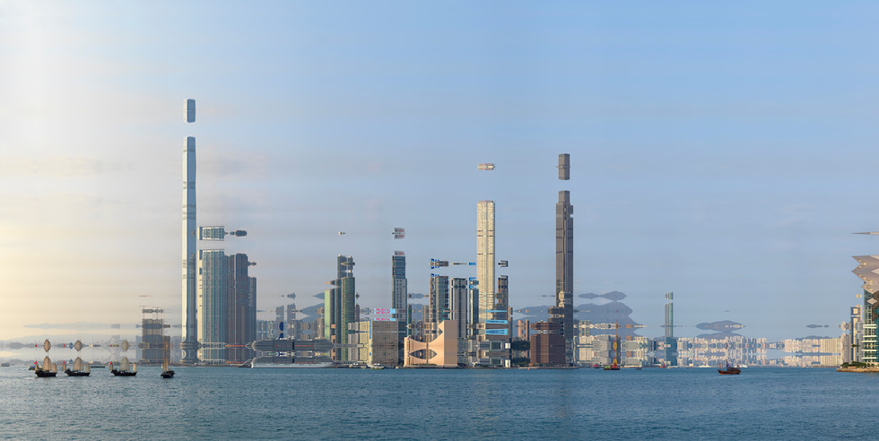 HONG KONG SKY LINE KOWLOON #12- 2019