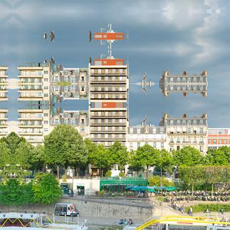 PARIS - PORT DE L'ARSENAL #5 - 2017