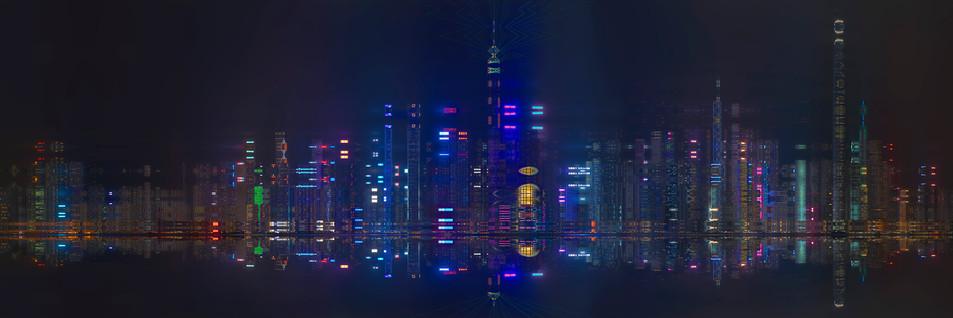 HONG KONG NUIT - BLADE RUNNER #24 - 2019