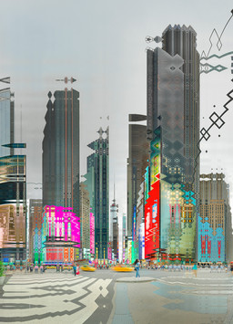 NYC TIMES SQUARE #01- 2018