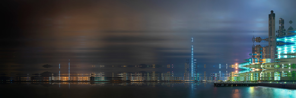 HONG KONG NUIT - BLADE RUNNER #06 - 2019