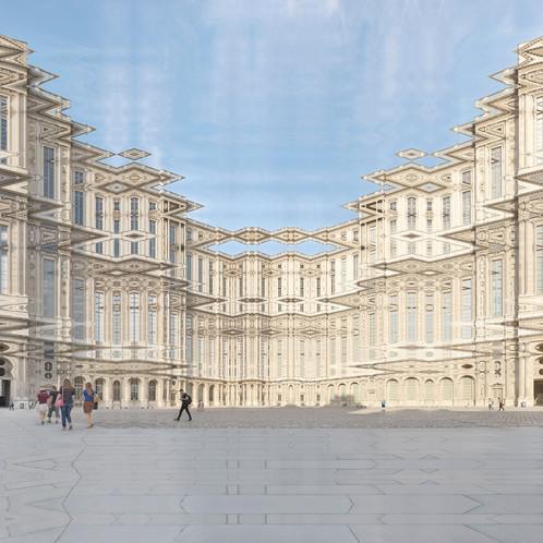 Paris Cours Carré Du Louvre