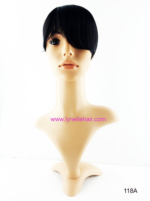 Synthetic Headband Long Side Bangs 118A