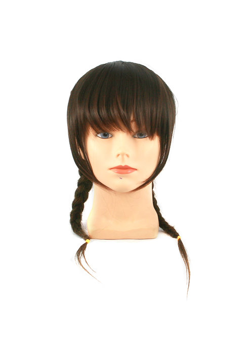 Layered Side Bangs with Long Sideburns F-W4 Synthetic Clip on Bangs