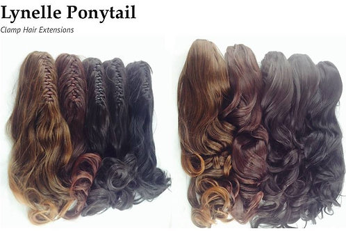 Synthetic Clamp Hair Extensions 168A