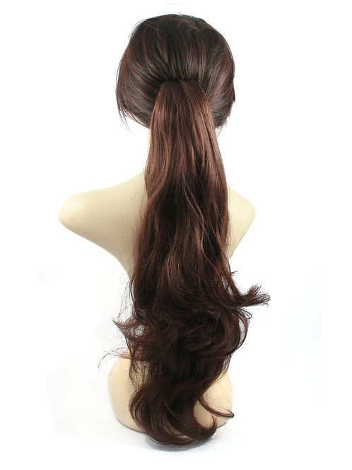 Ponytail Synthetic Clamp Hair Extensions AP040