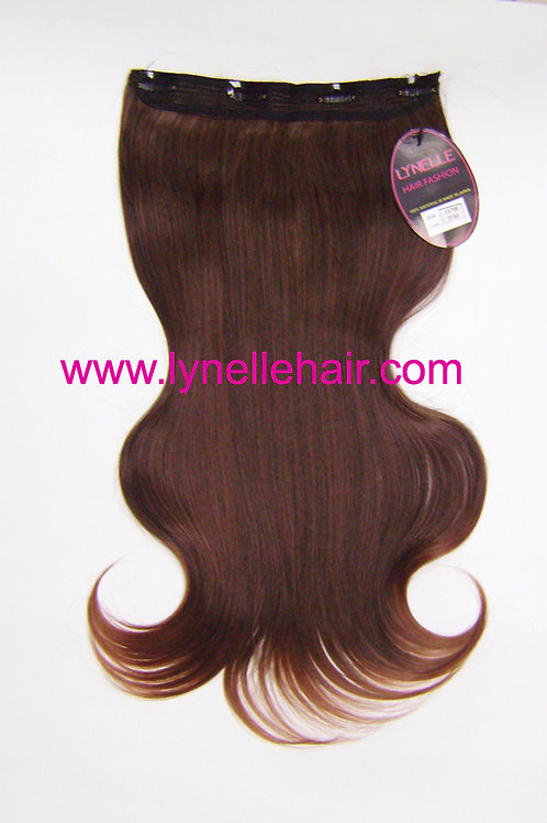 One Piece Synthetic Hair Extensions F1179E