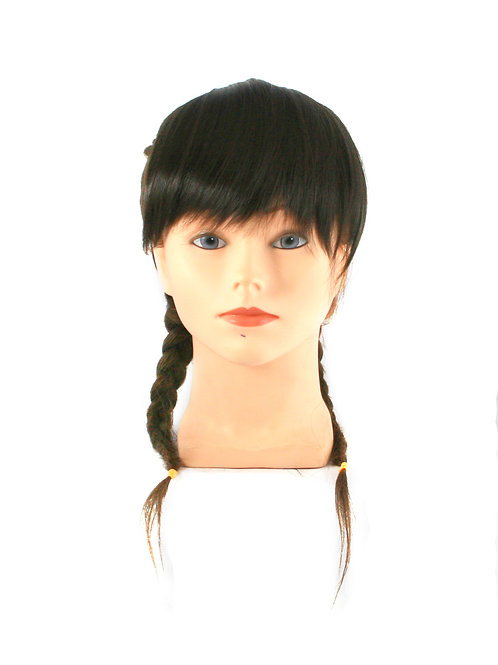 Long Side Fringe  A92 Synthetic Clip-on Bangs