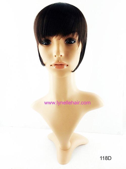 Synthetic Headband Short Side Bangs w/ Fringe 118D